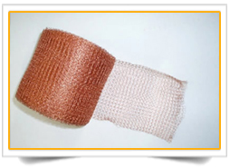 Copper Tin Knitted Mesh